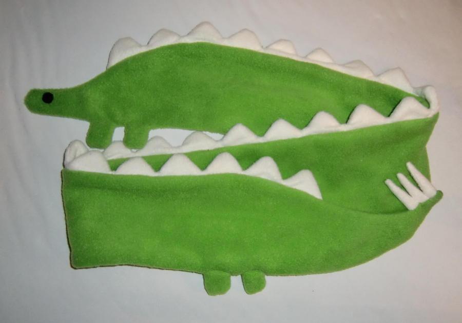 Dinosaur Scarf by Lemonpez