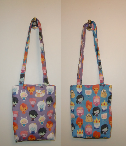 Adventure Time Tote Bag by Lemonpez