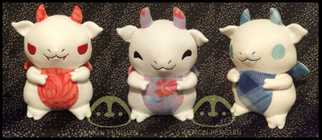 Baby Dragon Pattern Update by Lemonpez