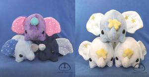 Elephant Plush Group Front