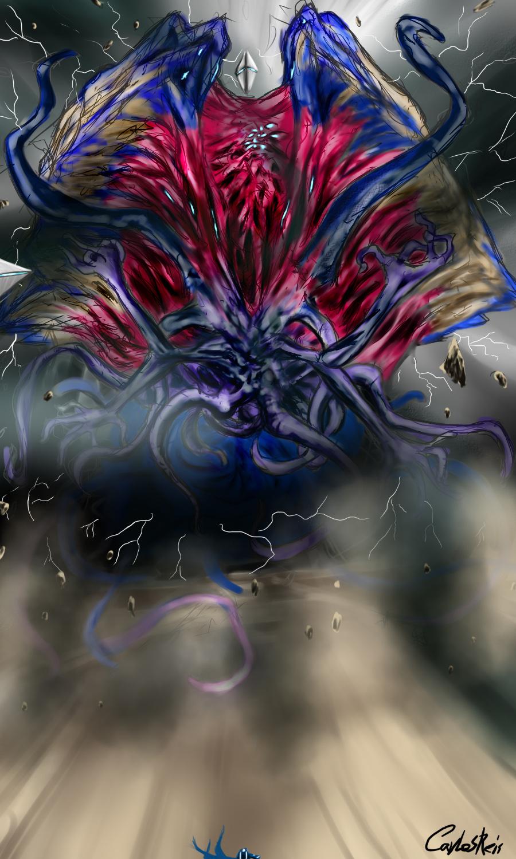 MTG - Jace vs Emrakul prt2 by CarlosHReis on DeviantArt