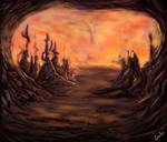 MTG - Mirrodin Furnace by CarlosHReis
