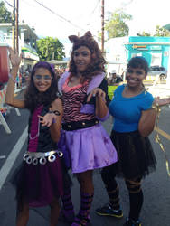 Spectra,Clawdeen and Cleo De Nile!!!! by Jazzbabe111