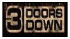 3 Doors Down Stamp by shykunoichi94