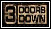 3 Doors Down Stamp by shykunoichi94