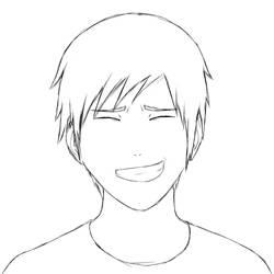 Shy Headshot Sketch by RichardRiot