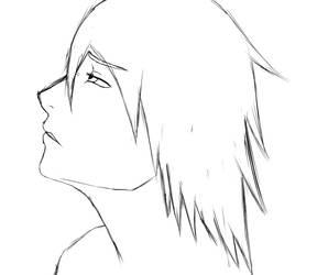 Profile Sketch by RichardRiot