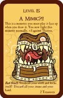 A Mimic?!! - Original Munchkin Card by TemplarSora