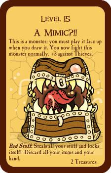 A Mimic?!! - Original Munchkin Card