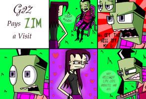 Gaz Visits Zim by Tallest-Ariva