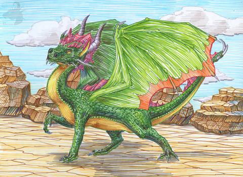 Narcissistic dragon