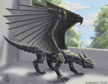Smaugust 05 - Mechanical dragon
