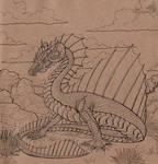 Sailing lindworm