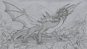 Wary dragon