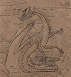 The dragon of a dry river