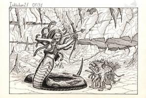 Inktober 05 - Medusa