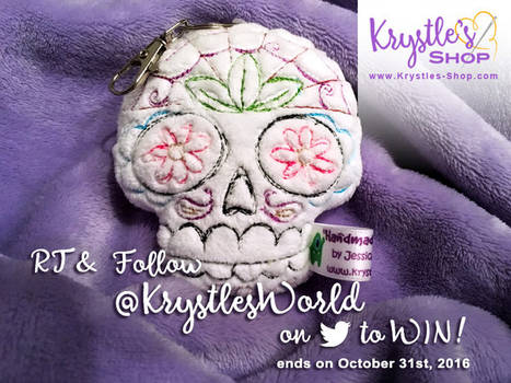 ** GIVEAWAY ** Sugar Skull (from October 2016)