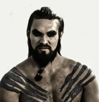 Khal Drogo - A Game Of Thrones by ReneeSweete
