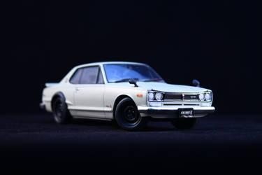 Tamiya kit Nissan GTR 2000 1:24 by LarsenGR