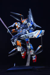 Nu Gundam ver.Ka by LarsenGR