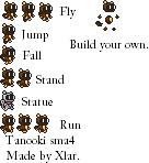 Tanooki Sprites by ZoneZero1