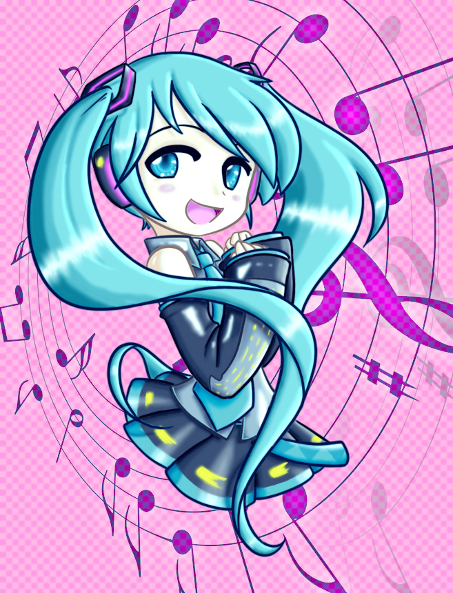 Sounds of Hatsune by 0-Nessa-0
