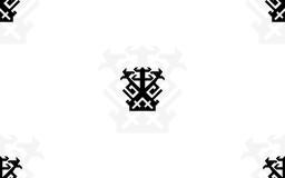 IKJ White Tile Background by Punkmoses