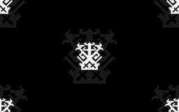 IKJ Black Tile Background by Punkmoses