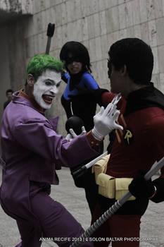 Robin - Arkham Breakout! Feat. Nightwing and Joker
