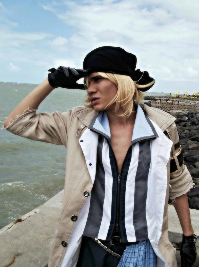 Snow Villiers - FF XIII - Hero's Quest by DashingTonyDrake