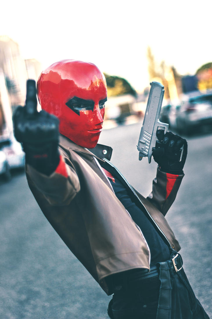 Jason Todd, The Red Hood - Defying The Rules by DashingTonyDrake