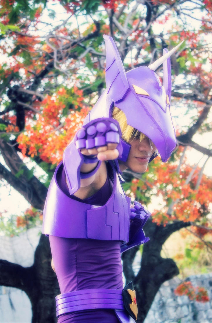 Unicorn Jabu - Saint Seiya V by DashingTonyDrake