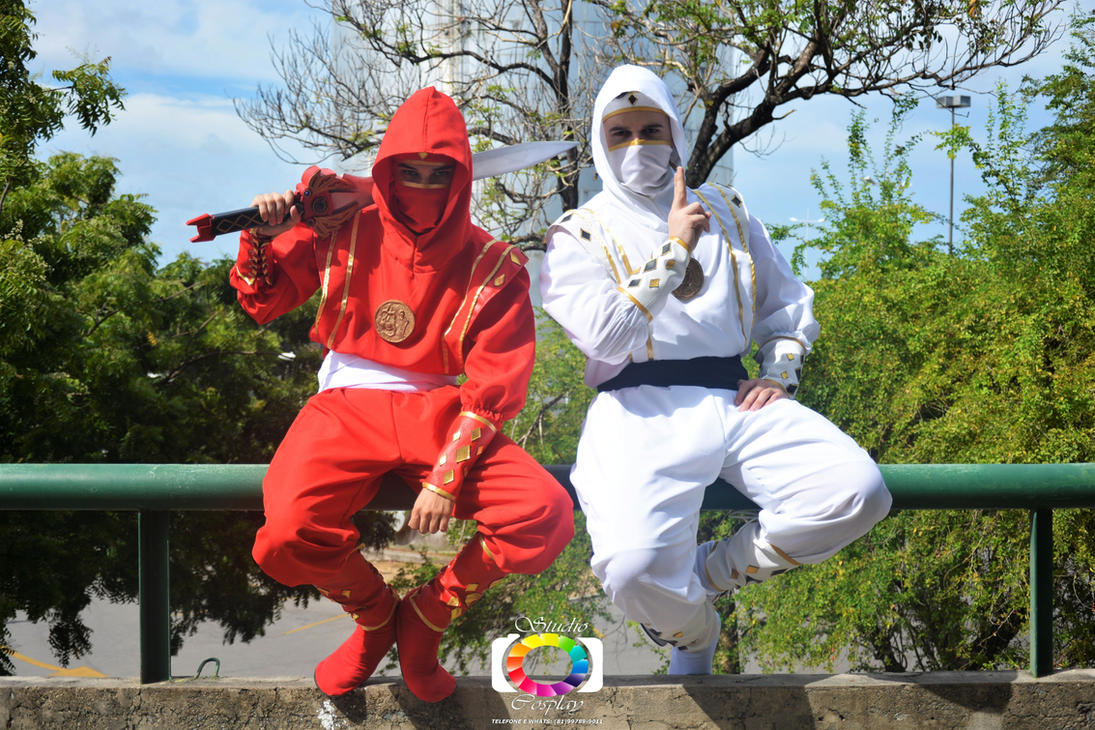 Rocky and Tommy - Ninja Attitude #MMPR: The Movie by DashingTonyDrake
