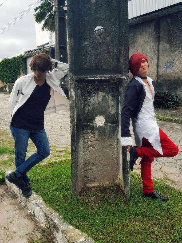 Kyo and Iori - Ima Sara Inochigoi #KOF by DashingTonyDrake