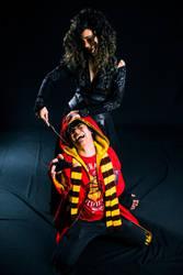 Harry Potter And Bellatrix Lestrange - Crucio! by DashingTonyDrake
