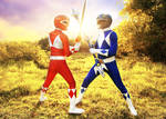 Rocky and Billy - The Sound of Dischordia #MMPR by DashingTonyDrake