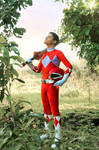 Rocky, The Red Ranger - A Brush with Destiny #MMPR by DashingTonyDrake