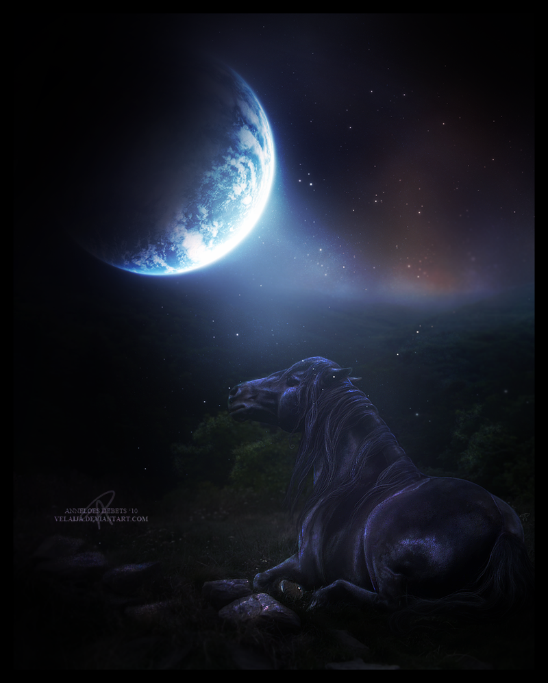 Mirage x Sorrel Stargazing_by_velaija-d2w5nrz