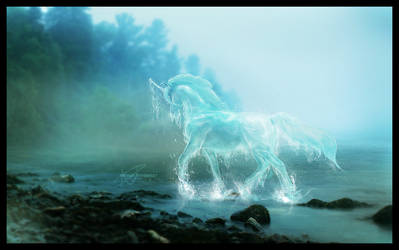 Waterhorse by Velaija