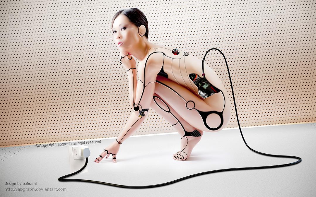 Cyborg Female by abgraph