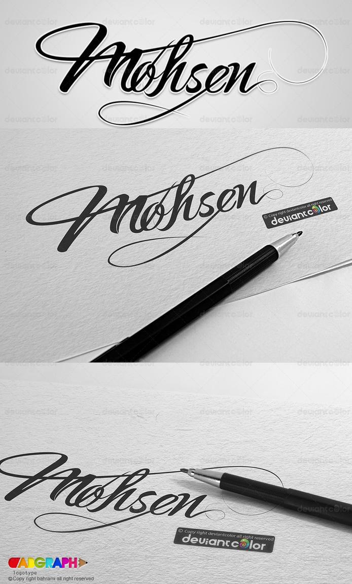 Mohsen logotype by abgraph