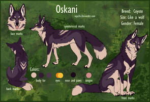 Oskani Fursona by Ospi2ki
