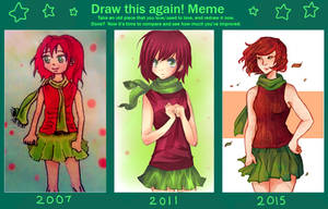 Draw Again Meme by thiefofstarz