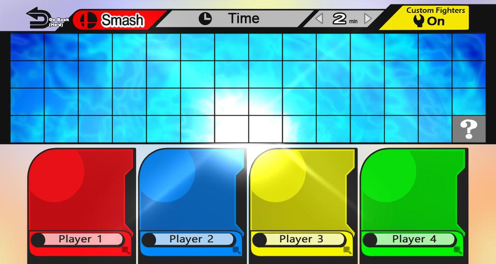 Roster Smash 4++ Vacio by EGZ-Jr
