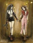 Tifa and Aeris