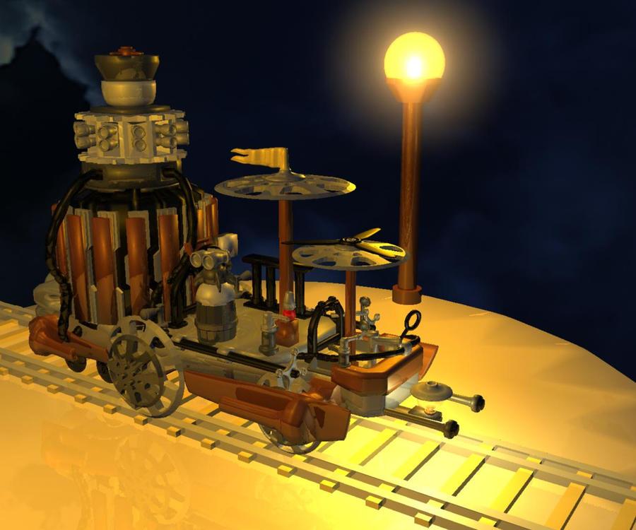 Lego Steampunk Train Lego Steampunk Train by