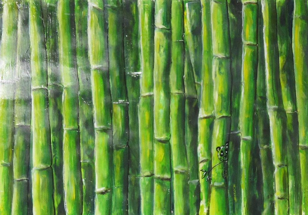 Im Bambuswald by deviantmichael