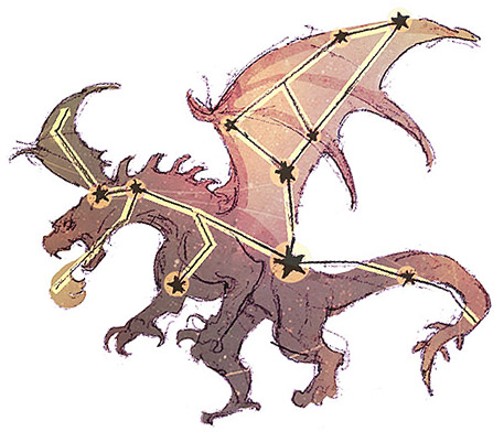 Constellation: The Great Dragon
