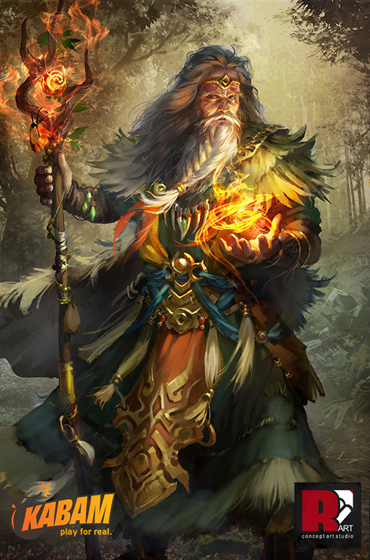 KABAM: Druid Elder. by mushroomtale