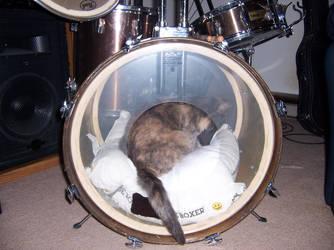 Puff in a Drum by ShadyMeadows
